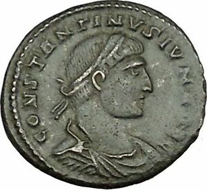 CONSTANTINE-II-Constantine-the-Great-son-Roman-Coin-Military-camp-Gate-i39590