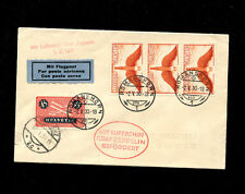 Zeppelin Sieger 67 1930 Voralberg Flight SwitzerlandTreatydispatch Bregenz  drop