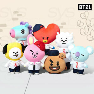 BTS-BT21-Official-Authentic-Goods-Afterschool-Plush-Standing-Doll-Tracking-Num