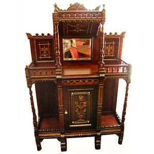 Antique-Cabinet-Aesthetic-Movement-c-1880-6152