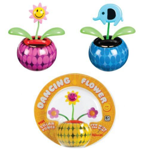 Assorted Styles with Adhesive Base NEW 2 for $18.88 Mini Solar Dancing Flowers