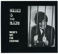Chain & The Gang - Music's Not For Everyone [new Cd] on sale