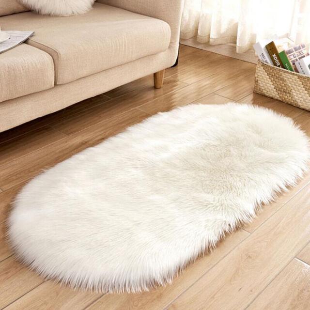 Shaggy Rug Area Dining Carpet Floor Mat