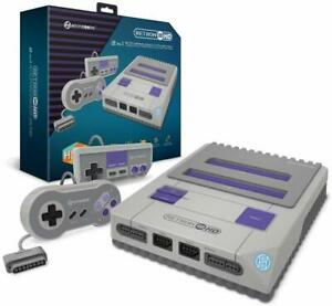 Hyperkin-RetroN-2-HD-Gaming-Console-for-Nintendo-NES-SNES-Super-Famicom-Gray