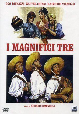 I MAGNIFICI TRE  DVD COMICO-COMMEDIA