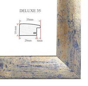 DELUXE35 Bilderrahmen 69x99 cm oder 99x69 cm Foto//Galerie//Posterrahmen