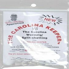 Presco Carolina Keeper for Easy Carolina Rig Fishing Choice of Clear or Red