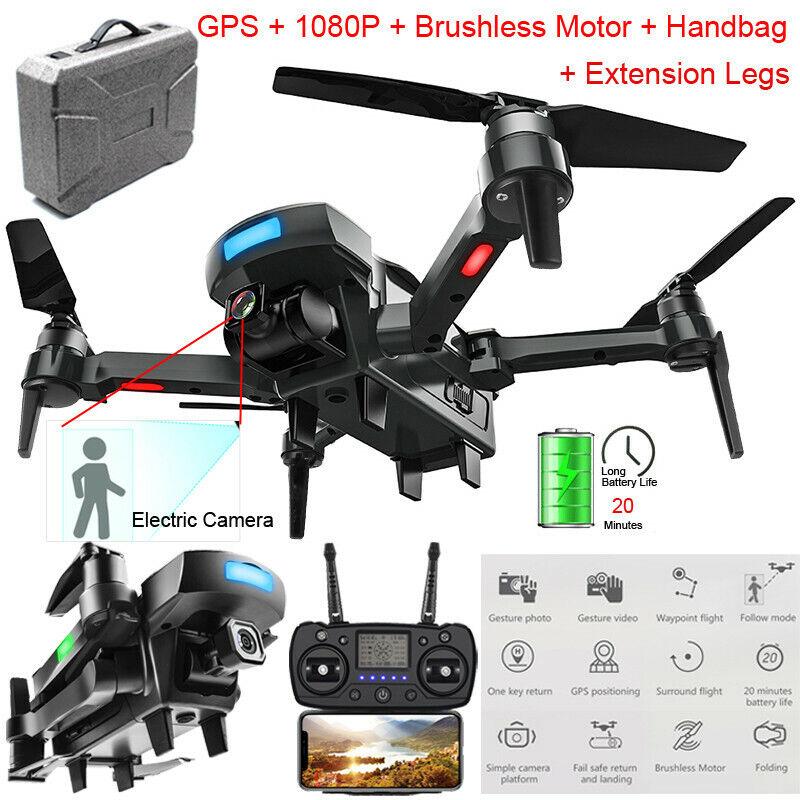 GPS  Drones With 1080P HD telecamera Brushless  WiFi FPV  Altitude Hold RC Quadcopter  migliori prezzi e stili più freschi
