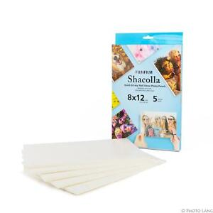 Fuji-shacolla-Caja-8x12-20-3-x-30-5cm-5er-packfoto-Klebeplatten