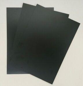 Plasticard-High-Impact-Polystyrene-1-5mm-60-thou-Sheet-A4-Gloss-Black