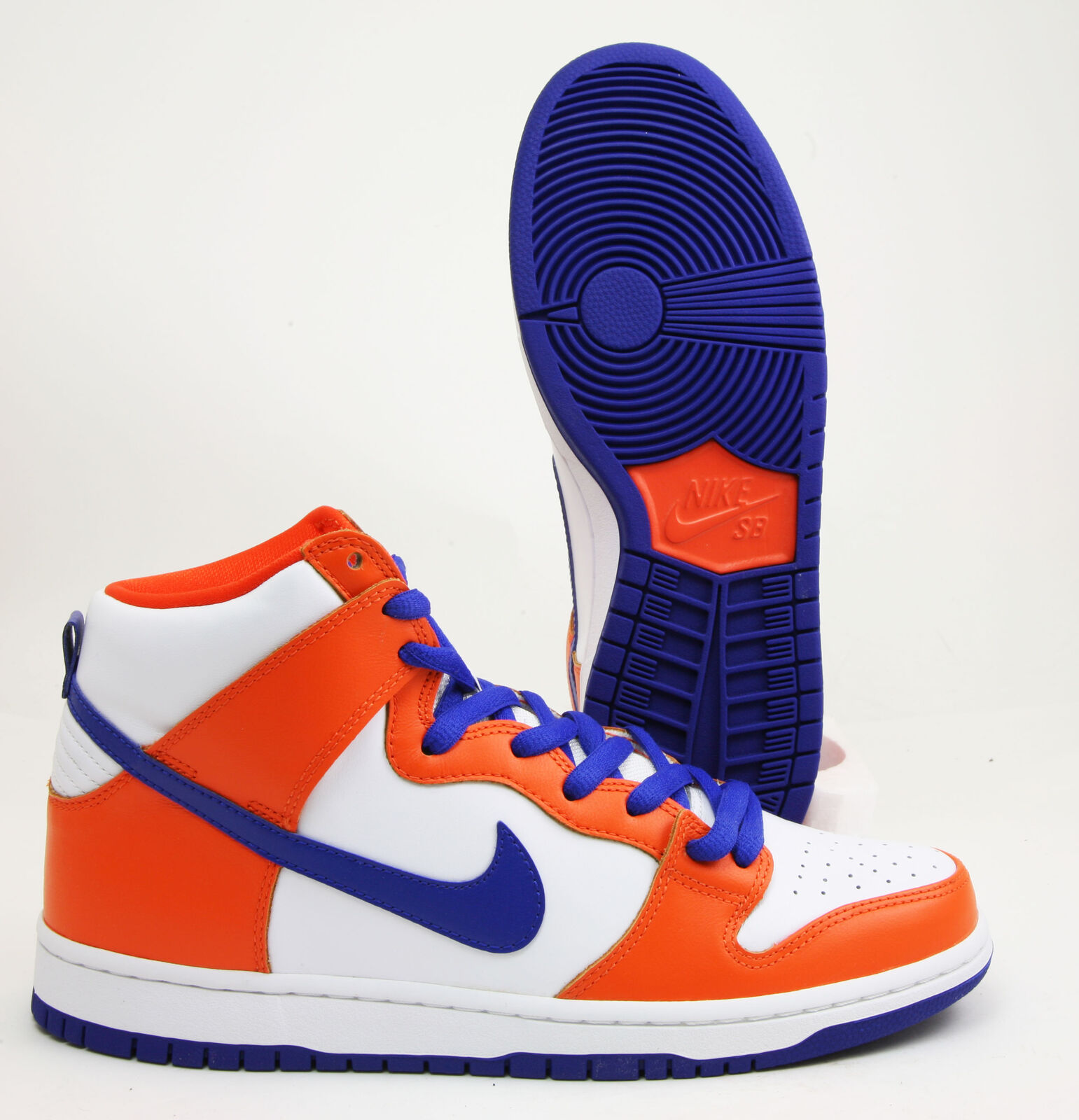 Nike SB Safety Dunk High TRD QS Safety SB Orange Hyper Blue White Limited Supply AH0471841 6cb38a