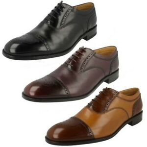 Mens-Loake-Smart-Leather-Lace-Up-Shoes-039-Woodstock-039