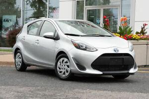 2018 Toyota Prius c BAS KM + GROUPE ELECTRIQUE + AUTO + CAM DE RECULE