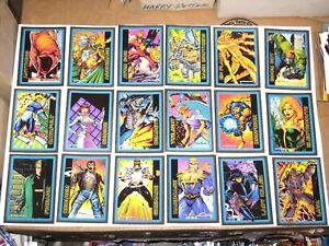 1993-ULTRAVERSE-SKYBOX-100-TRADING-CARD-SET-MALIBU-COMICS-NIGHT-MAN-TV-SERIES