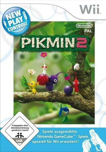 Nintendo Wii jeu - Pikmin 2 jeu - New Play Control dans l'emballage utilisé