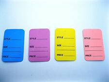 400 Extra Large Merchandise Price Tags 175 X 275