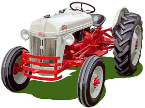 Ford Model 8N farm tractor canvas art print by Richard Browne