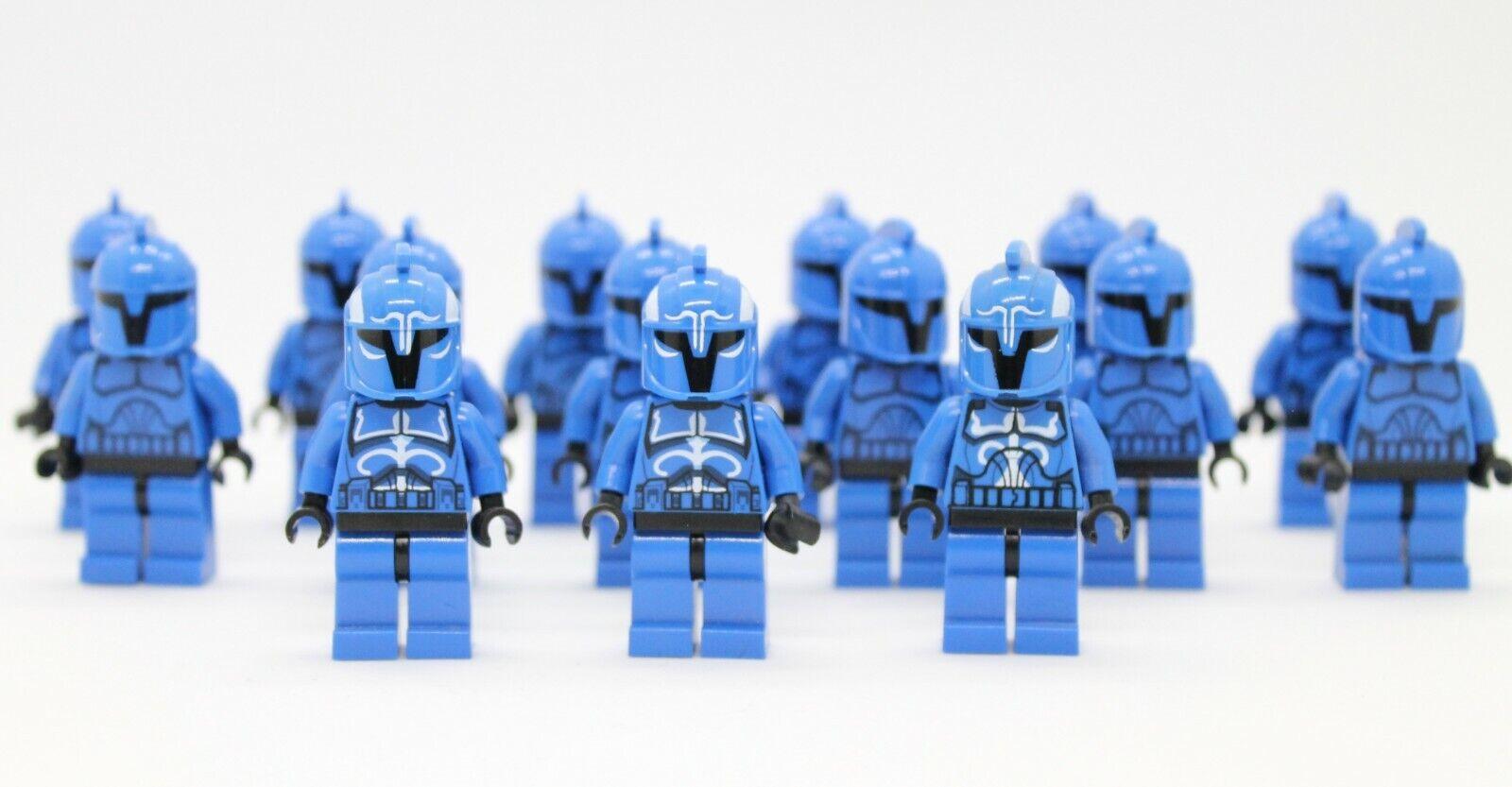 Lego Senate Commando & Captain 8128 8039 Rare Star Wars Minifigures Lot of 15