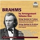 Johannes Brahms - Brahms by Arrangement, Vol. 1 (2012)