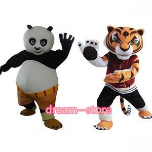 image is loading 2017 sale kung fu panda and tigress mascot - Kung Fu Panda Halloween