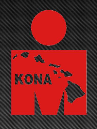 Ironman Islands Vinyl Sticker Decal triathlon tri 70.3 140.6 m logo hawaii