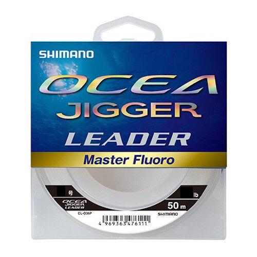 Shimano OCEA JIGGER LEADER MASTER FLUgold 50m Select LB Slow Jigging