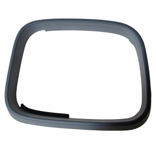 Right Driver Side OS Door Wing Mirror Bezel Primed Rim Round Glass VW Caddy