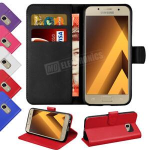 Housse-etui-pour-Samsung-Galaxy-A3-A5-2017-Magnetique-Flip-Leather-Wallet-Case-Stand