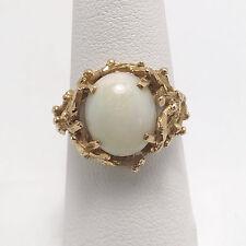 Vintage Australian Opal 14K Yellow Gold Ring (#020)