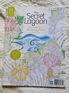 Details About The Secret Lagoon A Meditative Art Therapy Coloring Book By Poppy Appleby