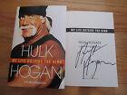 WWE WCW Champion HULK HOGAN signed MY LIFE OUTSIDE THE RING 2009 1st Ed Book COA