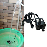 Ultra-quiet Dc12v Micro Brushless Water Pump Waterproof Fountain Circulating 5w