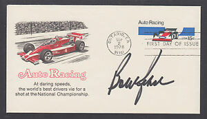 Bobby Rahal, American Race Car Driver, 1986 INDY 500 Winner, signed Auto Racing