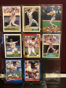 Mark-McGwire-Baseball-Card-Lot-Upper-Deck-Topps-Score-Donruss-8-cards