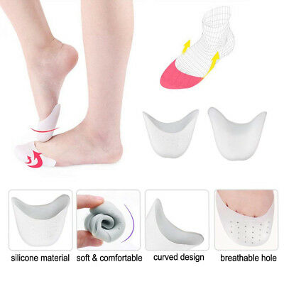 Professional Ballet Silicone Gel Pointe Toe Cap Cover Soft Pads Protector US