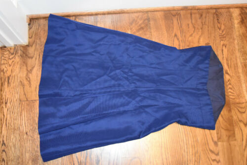 New taglia Faille In blu spalline senza Maisie Dress 2 scuro Classic Nwt w5AF8xnYCq