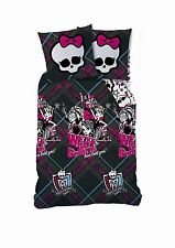 Monster High Bettwäsche College Spirits ,Baumwolle,135x200 , 80x80 cm ,NEU,OVP