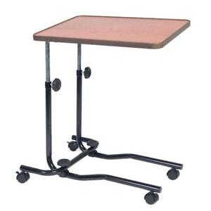 Superb Details About Hospital Tray Portable Over Bed Chair Table Mobility Elderly Food Disability Beutiful Home Inspiration Semekurdistantinfo