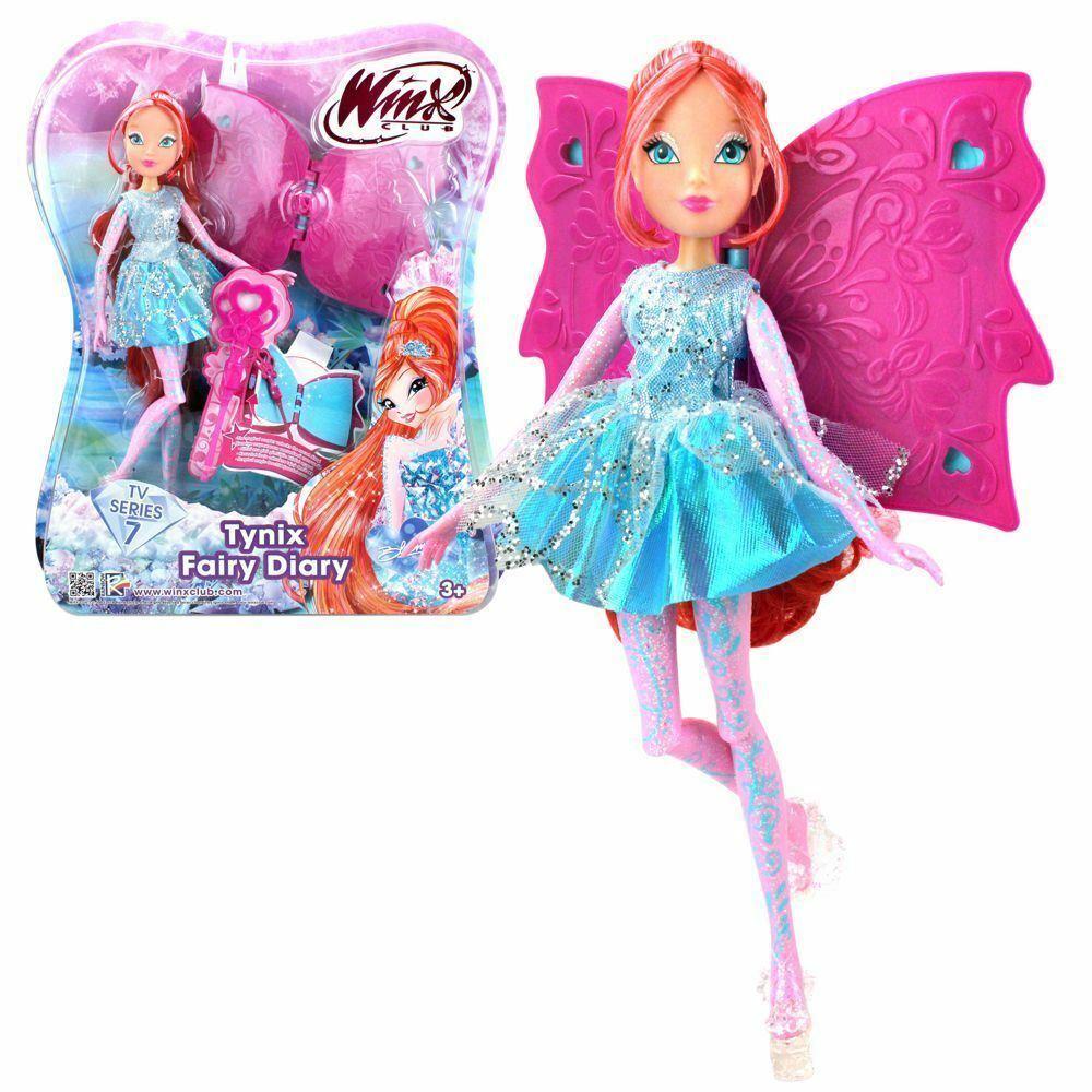Winx Club Tynix Fairy Diary Bloom Doll Figure Tv Serie 7  11''