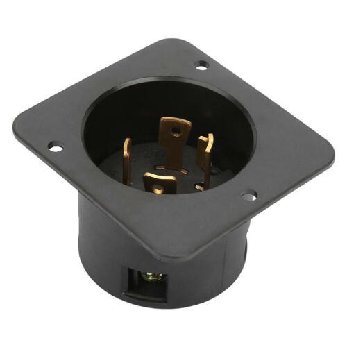 NEMA L14-30C 4-Hole 30A 125V-250V UL Listed Industrial Generator US Socket Plug