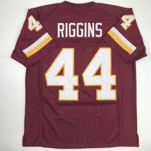 Details about New JOHN RIGGINS Washington Burgundy Custom Stitched Football Jersey Men's XL