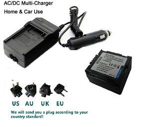 LCD Quick Battery Charger for Hitachi DZ-MV730 DZ-MV750 DZ-MV780S Camcorder DZ-MV780R DZ-MV780