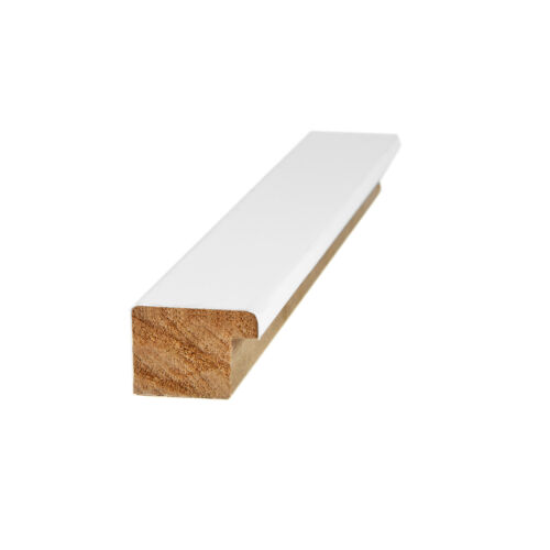 """ArtToFrames Custom Picture Poster Frame Satin White 1.125/"""" Wide Wood"""