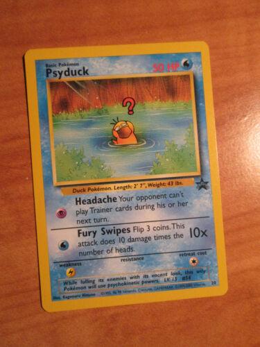 LP Pokemon PSYDUCK Card BLACK STAR PROMO Set #20 Wizards of the Coast League