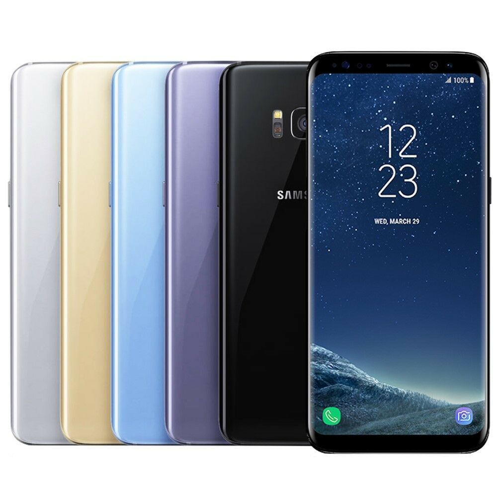 Samsung Galaxy S8 Plus Smartphone (GSM Unlocked or AT&T T-Mobile Verizon Sprint) 1
