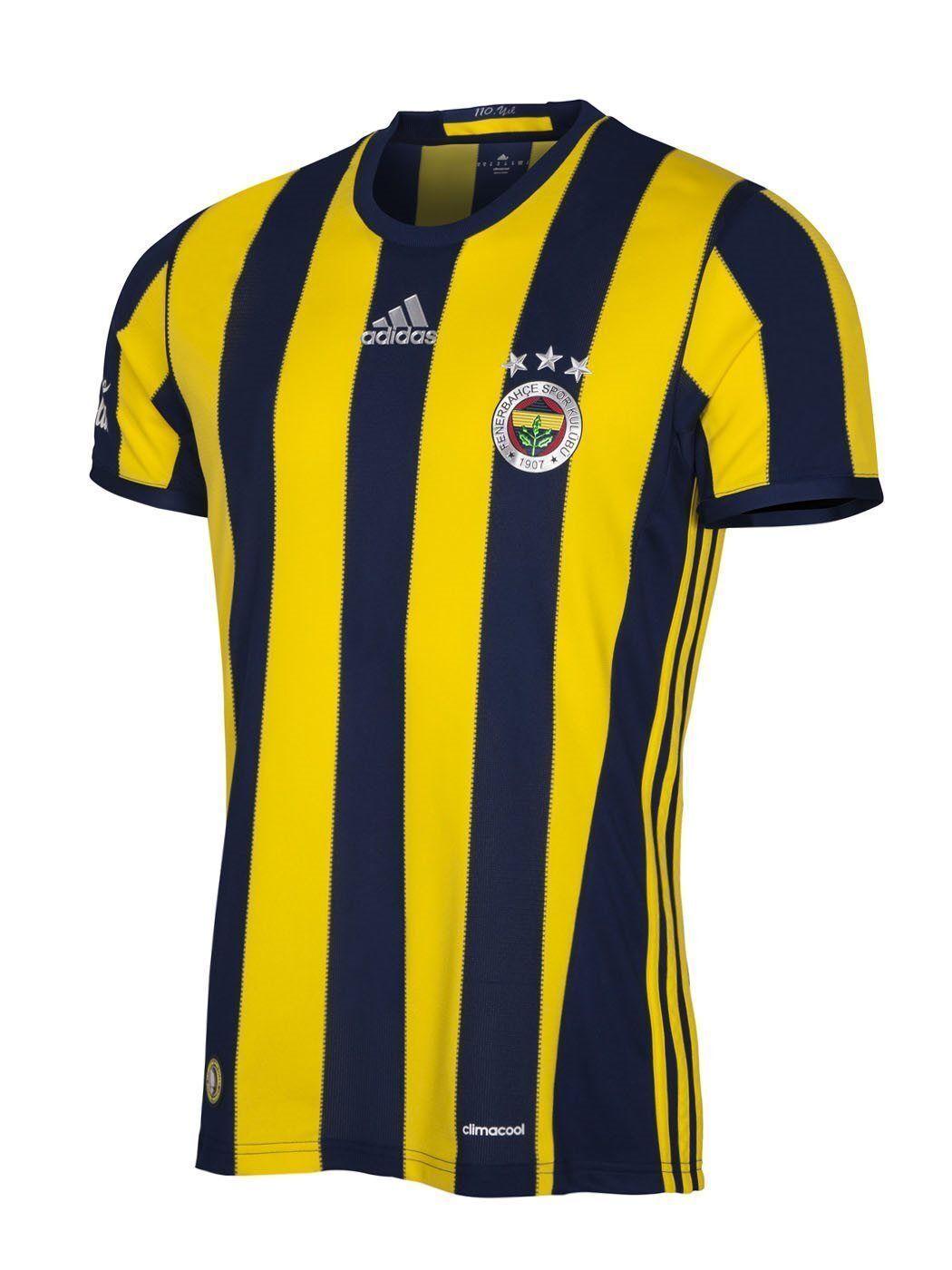 Authentic Adidas Fenerbahce 201617 con licenza HtuttiEY COCA COLA 110 anni YIL S