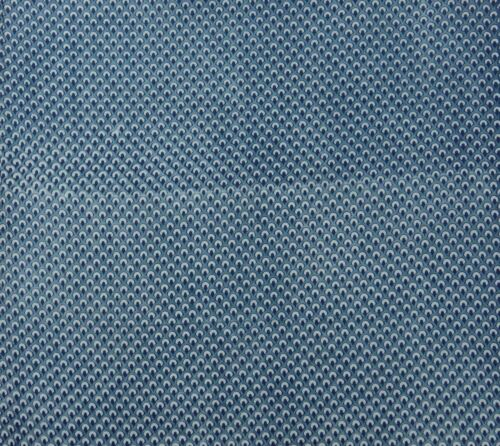 Hand Block Print Blue Cotton Cambric Indian Fabric Sewing Crafting By 1 Metre