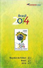 Chile 2014 Brochure Mundial de Futbol Brasil World Cup Soccer Brazil