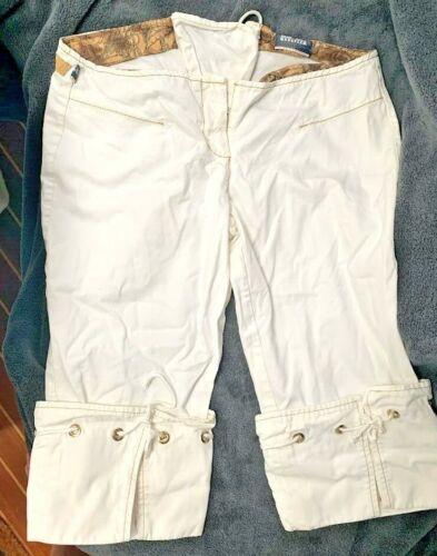 Jean Paul Gaultier White Crop Sailor Anchor Shorts