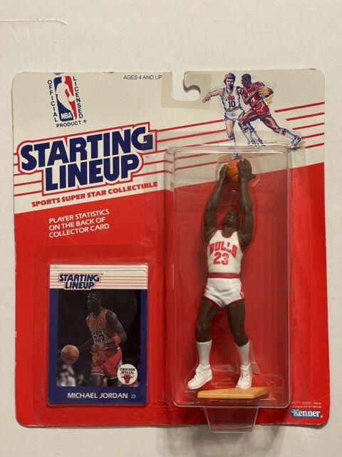 1988 Michael Jordan Starting Lineup Rookie Basketball Figure Chicago Bulls